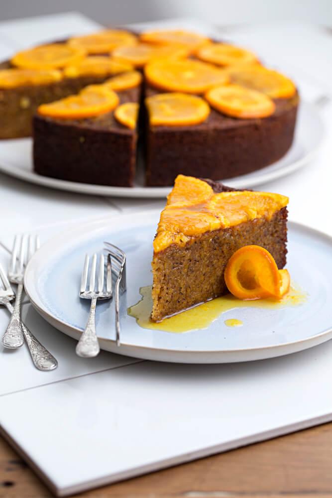 Orange & Almond Drizzle Cake